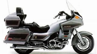 スズキ・カバルケイドって知ってる?大型バイクでツーリングした思い出。