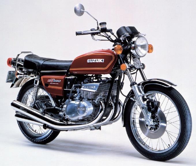 出典:webike.net スズキ GT380 '78