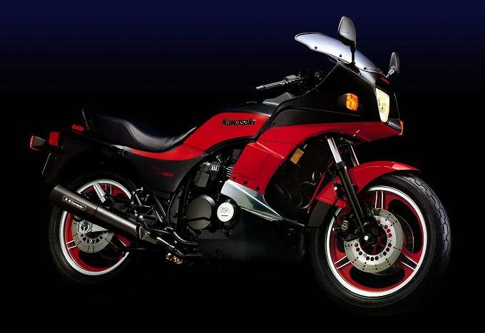 カワサキ 750ターボ '83 (出典:motorcyclespecs.co.za)