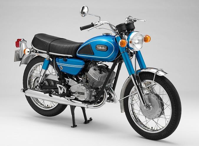 ヤマハ DS6 1969 (出典:yamaha-motor.com)