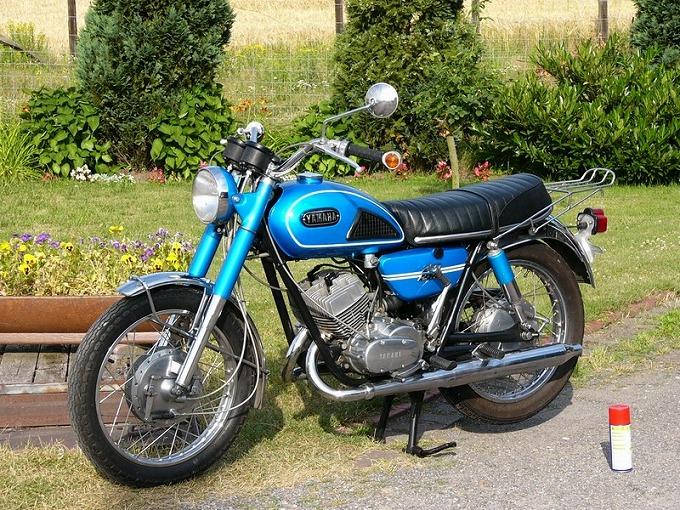 ヤマハ DS6 1969 (出典:classic-motorrad.de)