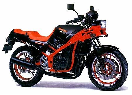 スズキ GSX400X '86 (出典:suzukicycles.org)