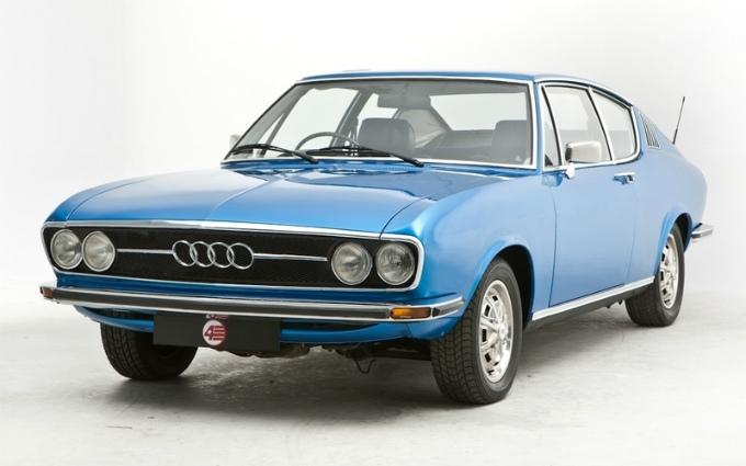 アウディ100 coupe 1970