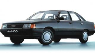 アウディ100 (3代目 '82-'90):優れた空力特性を実現し、フルタイム4WDを追加 [C3]