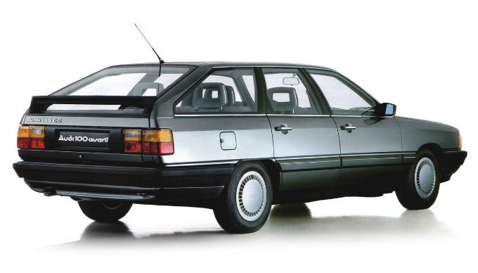 アウディ100 avant 1982