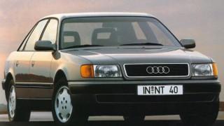 アウディ100 (4代目 '90-'94):空力ボディを継承し、V6エンジン搭載車を追加 [C4]