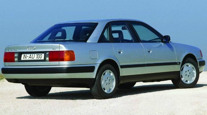 アウディ100 1990