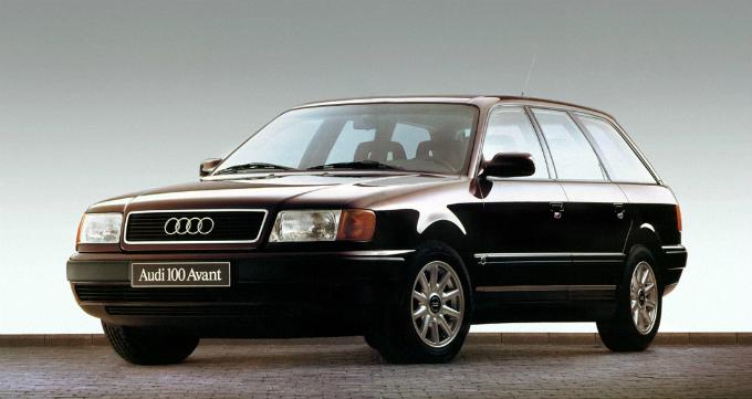 アウディ100 avant 1990