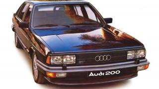 アウディ200 (初代 '79-'83):2代目アウディ100の上級モデルとしてデビュー [C2]