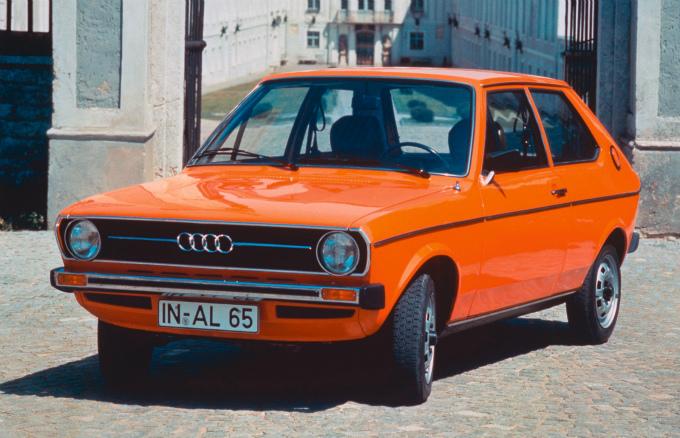 アウディ50 1974