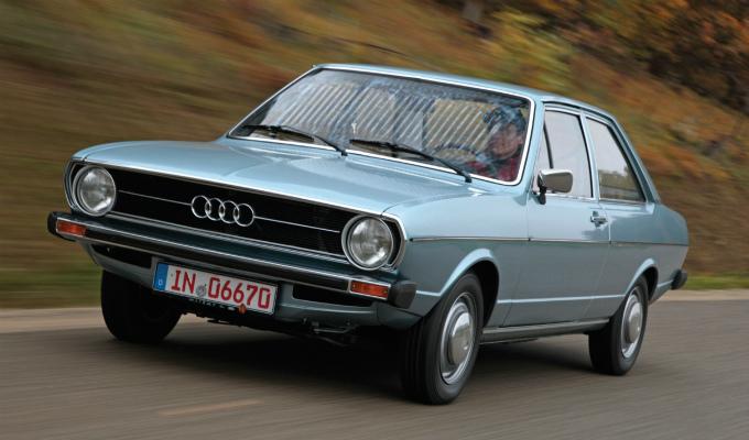 アウディ80 2Dr 1972