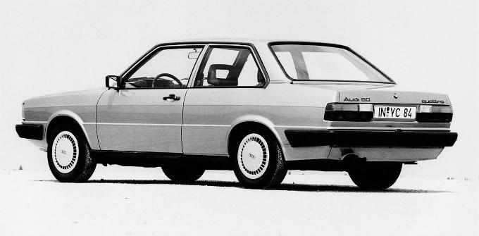 アウディ80 2Dr 1981