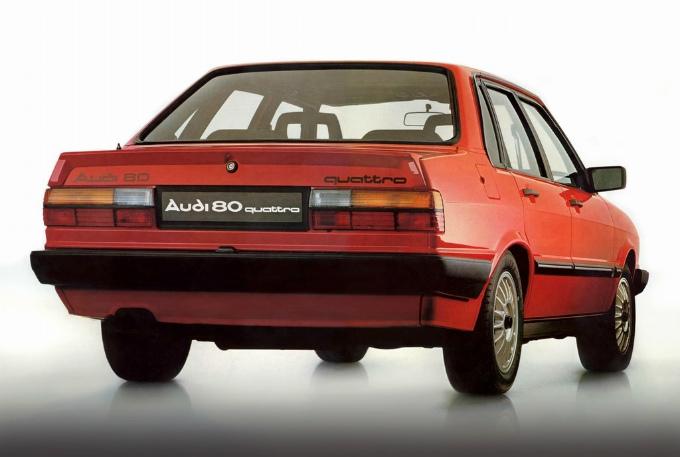 アウディ80 quattro 1982