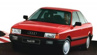 アウディ80 (3代目 '86-'91):基本メカニズムを踏襲しつつスタイリングを一新 [B3]