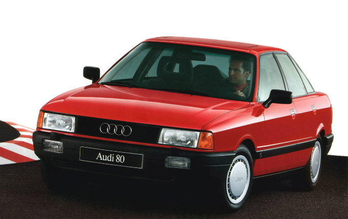 アウディ80 1986