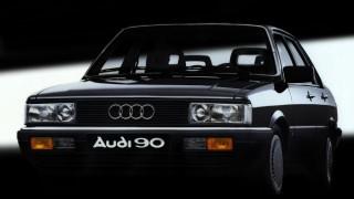 アウディ90 (初代 '84-'87):2代目アウディ80の上級モデルとして誕生 [B2]