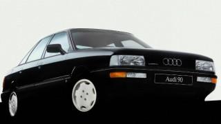 アウディ90 (2代目 '87-'91):先代から空力特性が向上しクワトロ・システムも進化 [B3]