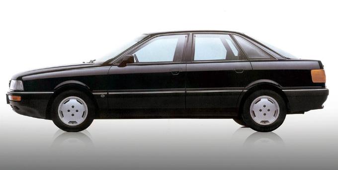 アウディ90 quattro 1987
