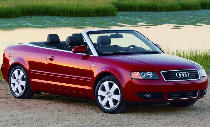 アウディA4 cabrio 2001  (出典:favcars.com)