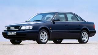 アウディ A6 (初代 '94-'97):アウディ100のマイナーチェンジ版として登場 [C4]