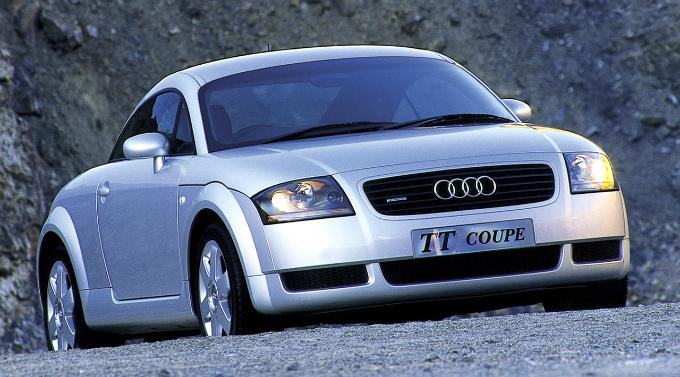 アウディ TT (初代 1998-2006):個性的なスタイリングが特徴のスポーツクーペ [8N]