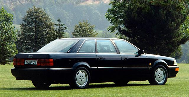 アウディ V8 ロング 1990
