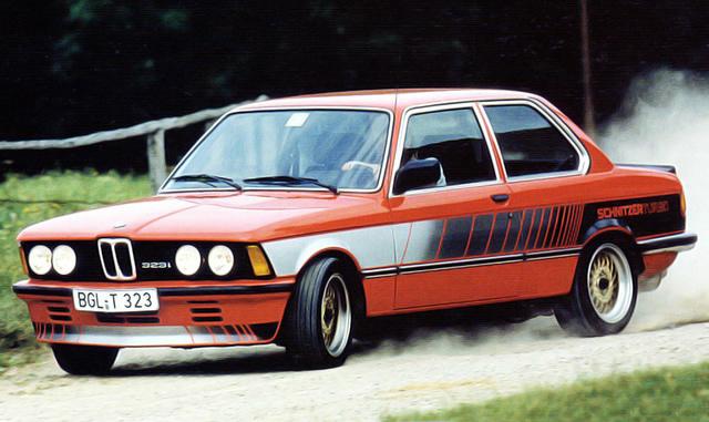 BMW schnitzer 323i turbo 1978