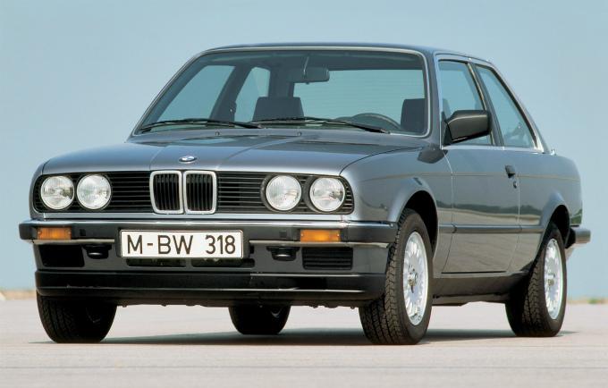 BMW 318i coupe 1982