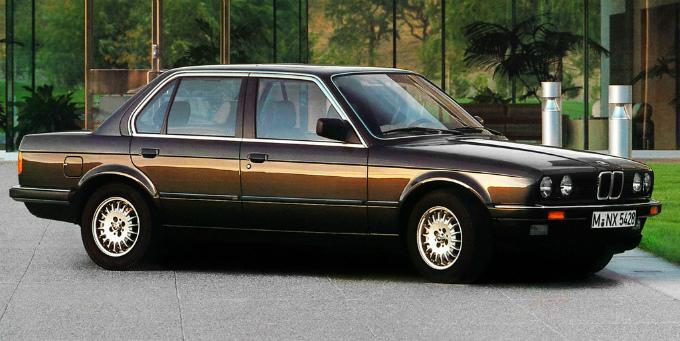 BMW 325e sedan 1983