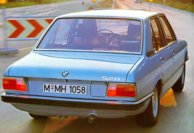 BMW 520 sedan 1972
