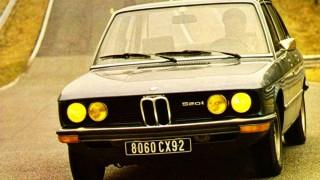 BMW 5シリーズ (初代 E12 '72-'81):1800/2000系の後を担った新世代のミディアムセダン
