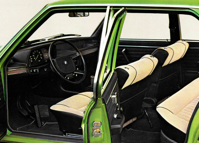 BMW 520i sedan 1972