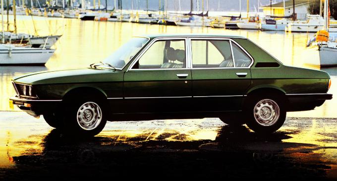 BMW 528i sedan 1977