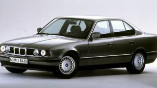 BMW 5シリーズ (3代目 E34 '88-'95):ボディ剛性を強化し空力特性を更に改善