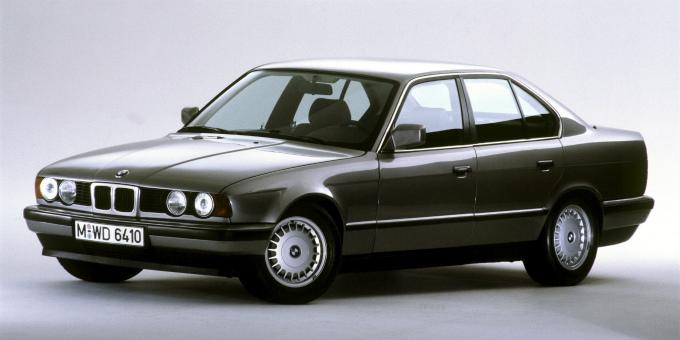 BMW 520i sedan 1987