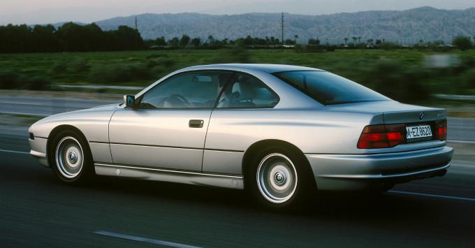BMW 850i 1989