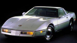 シボレー コルベット (4代目 '83-'97):セミモノコックボディを採用するなど基本設計を一新 [C4]