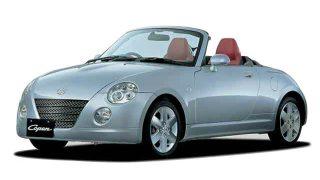 ダイハツ コペン (初代 '02-'12):軽自動車初の電動バリアブルハードトップを採用 [L880K]