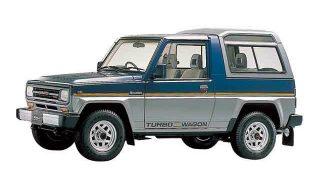 ダイハツ ラガー ('84-'97):前作タフトからモダナイズされ乗用モデルも追加に [F70]