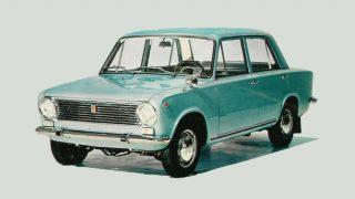フィアット 124ベルリーナ ('66-'74):軽量設計と優れた実用性が特徴の小型乗用車