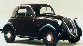 フィアット500 (初代 '36-'55):国民車として人気を博しロングセラーに