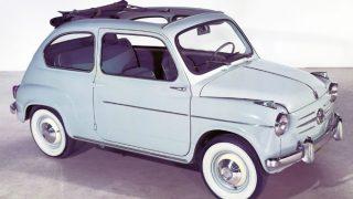 フィアット600 (初代 '55-'69):ボディ構造やメカニズムを一新した500の後継モデル