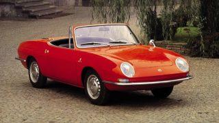 フィアット 850スパイダー ('65-'73):ベルトーネ・デザインのボディを持つオープンモデル