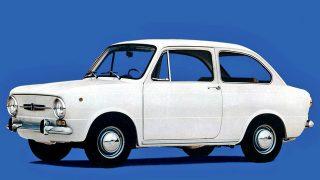 フィアット 850ベルリーナ ('64-'72):RR方式を踏襲した600の上級車種