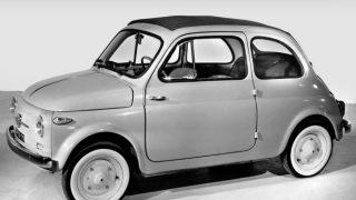 フィアット(NUOVA)500 (2代目 '57-'77):合理的な設計と低価格によりベストセラーに