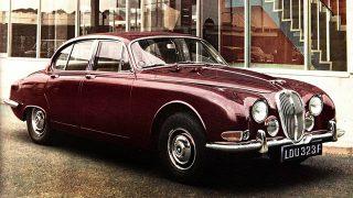 ジャガー Sタイプ (初代 '63-'68):Mk2の欠点を改めた正常進化型モデルとして誕生