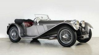 ジャガー SS100 ('35-'40):初めてジャガーブランドでリリースされたスポーツカー