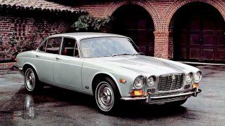 ジャガーXJ (シリーズⅠ '68-'73):Eタイプ譲りのサスペンションを採用した高級セダン