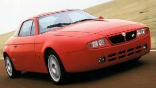 ランチア ハイエナ ザガート ('93):ハッチバック版インテグラーレがベースのスポーツカー