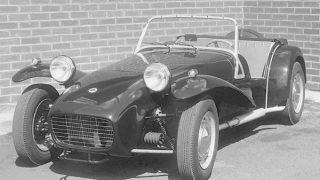 ロータス セブン (ロータス7 '57-'73):安価な価格設定でヒットしたロータス初の量販モデル